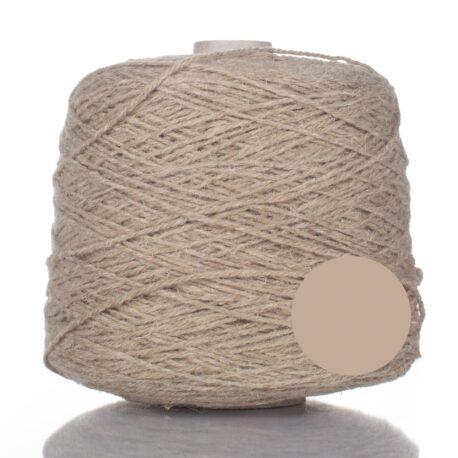Carpet yarn on cone.
